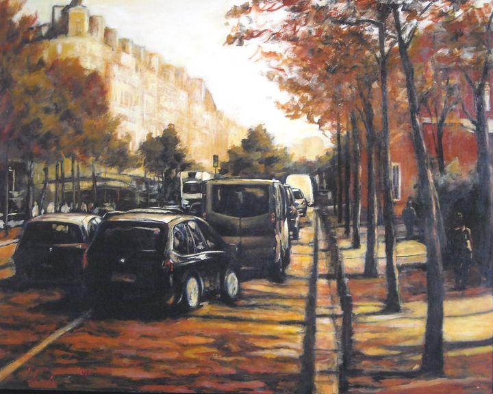 Autunno a Parigi - Colorida Art Gallery