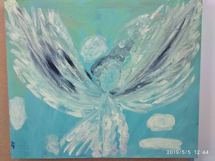 Guarding angel - Liya Lili Okun