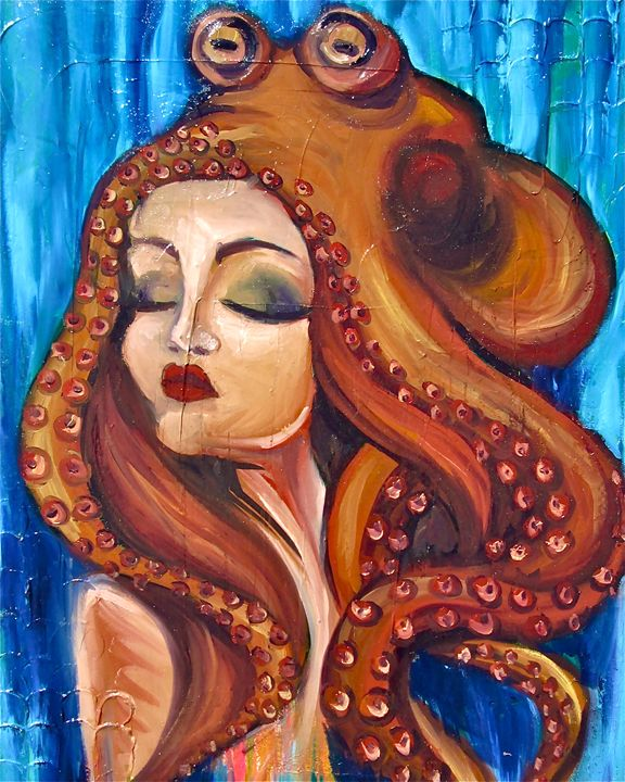 Squid Trance - Heather Ireland Artz