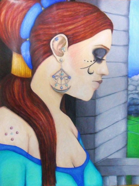 Forgotten Storms - Stephanie's Fantasy Art