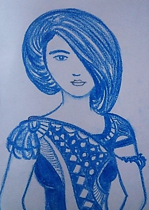 Bleu - chitrakar