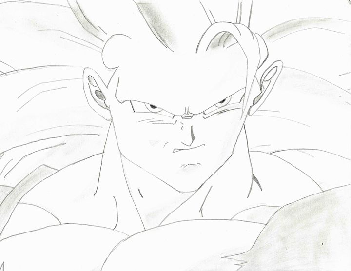 Goku Super Saiyan 3 - Loveless