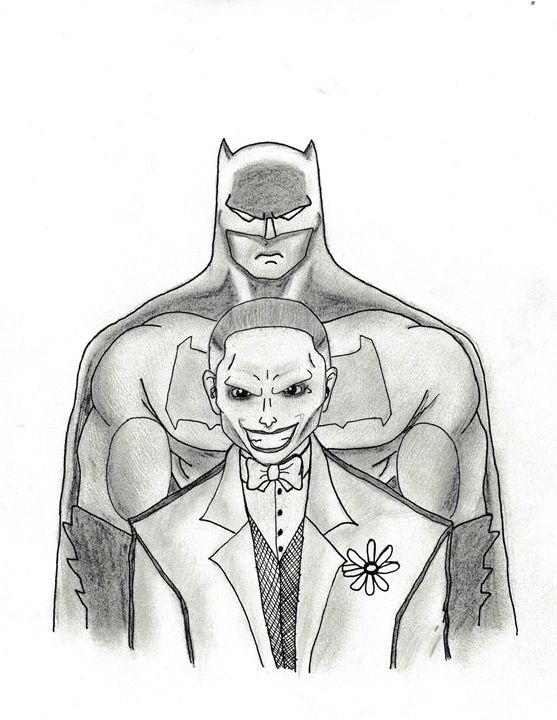 Batman and The Joker - Loveless