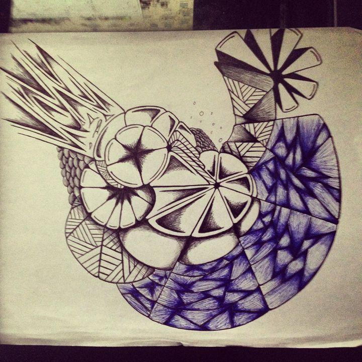 Intertwining Line - Crisp Arts