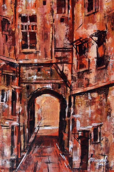 red building - FINE ART WINGS