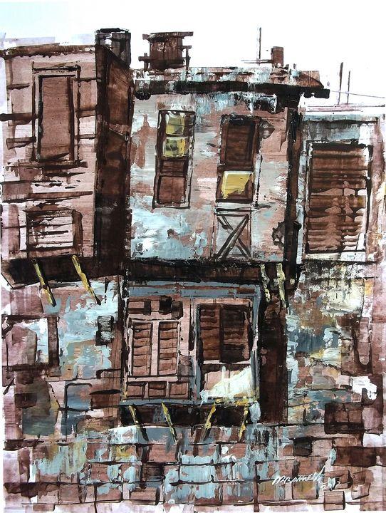 Old house 2 - FINE ART WINGS