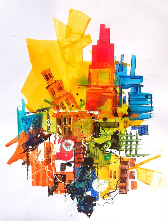 the city#6 - FINE ART WINGS