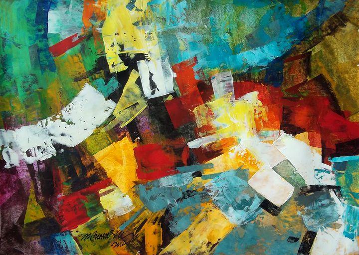 Abstract landscape - FINE ART WINGS