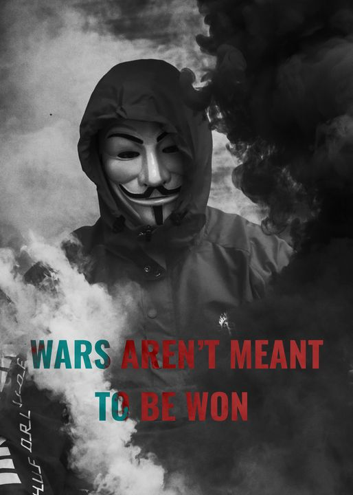 Wars Aren´t Meant To Be Won - Flash Designs