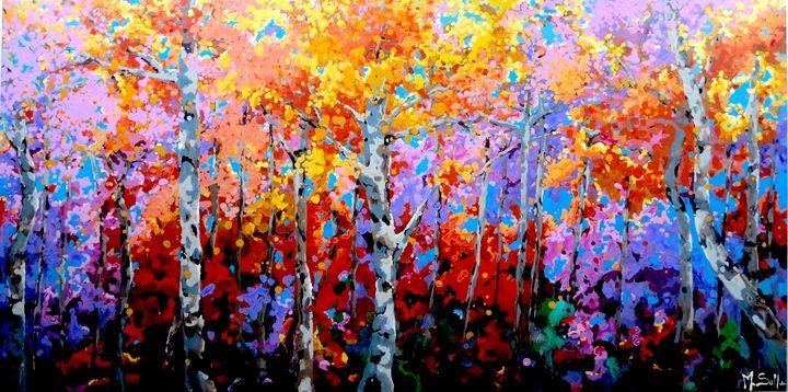 Autumnal colours - Marilene Salles Fineart