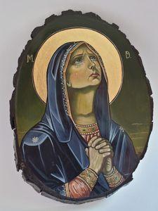 Saint Mary mourning