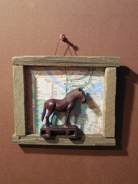 Wooden Horse Looking Nowhere - Jim Ramirez