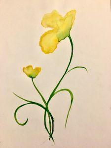 Watercolour Flowers - Zoe Robinson