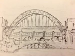 Newcastle-Upon-Tyne Five Bridges - Zoe Robinson