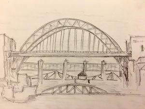 Newcastle-Upon-Tyne Five Bridges - Zoe Robinson