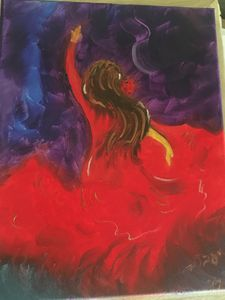 Flamenco Dancer - SOLD