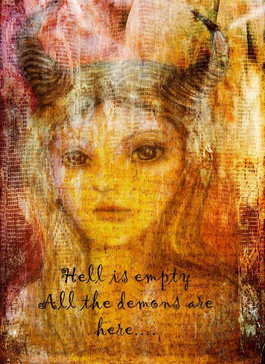 Hell is empty - WickedLola Art