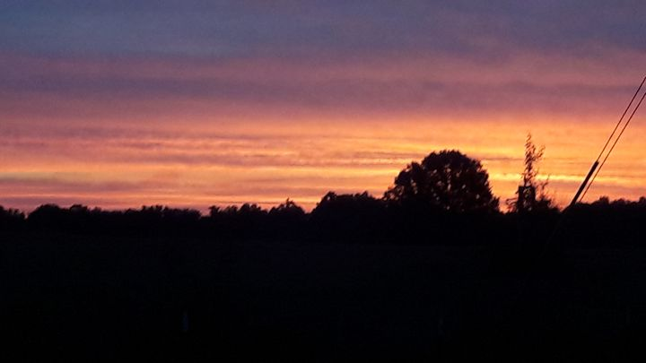 Beautiful sunset - Shanes Uniques