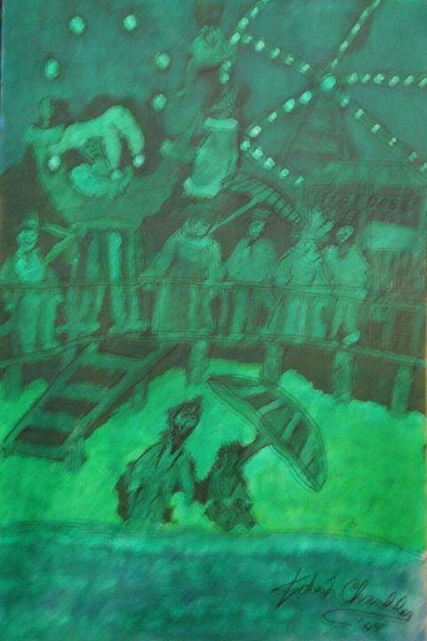 Surreal Study In Green - John L. Chandler