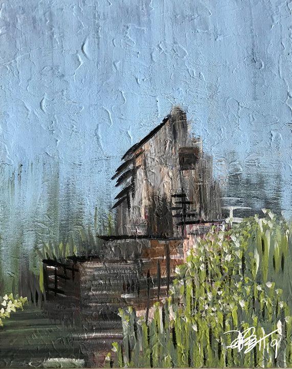 Rain - Painted Texture