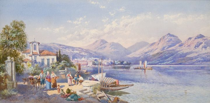 View of Lugano - Guarisco Gallery