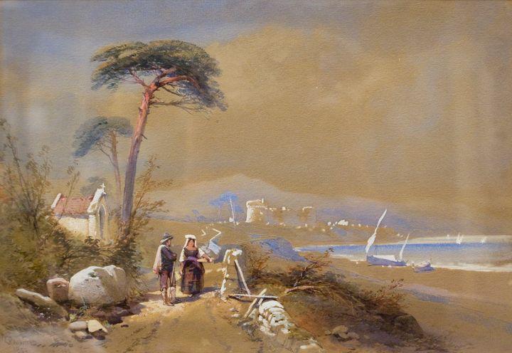 An Italian Lake - Guarisco Gallery