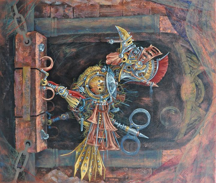"Aleksey Lymarev ""Carpe diem"" - Jozo Art"
