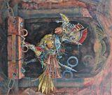Original Signed Flemish Painting