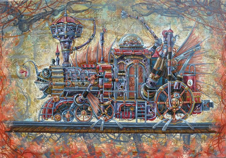 "Aleksey Lymarev ""Our Locomotive"" - Jozo Art"