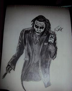 Joker - Sketching