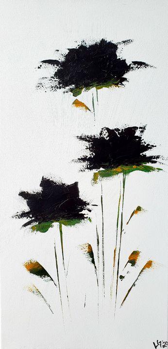 Black flowers - Latoya Gomez