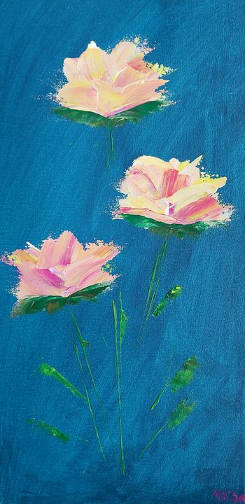Pink flowers - Latoya Gomez