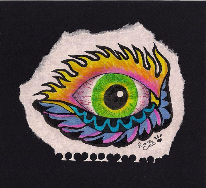 Green Eye - Racecat7