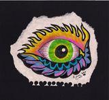 Original Green Eye drawing
