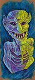 Original Gargoyle painting
