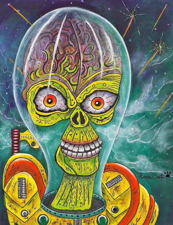 """""""Alien"""" - Racecat7"""