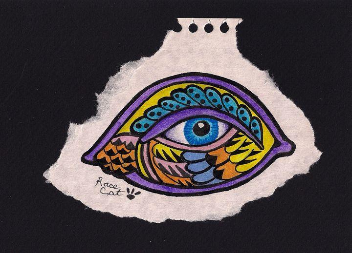 Blue Eye Purple Liner - Racecat7