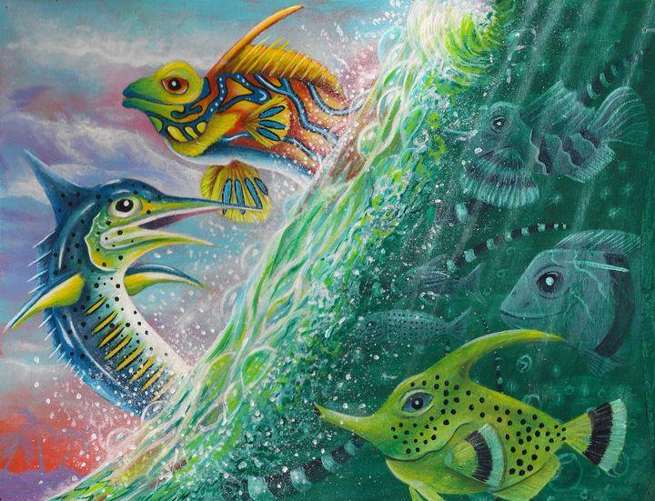 Wonders of the Ocean - Racecat7