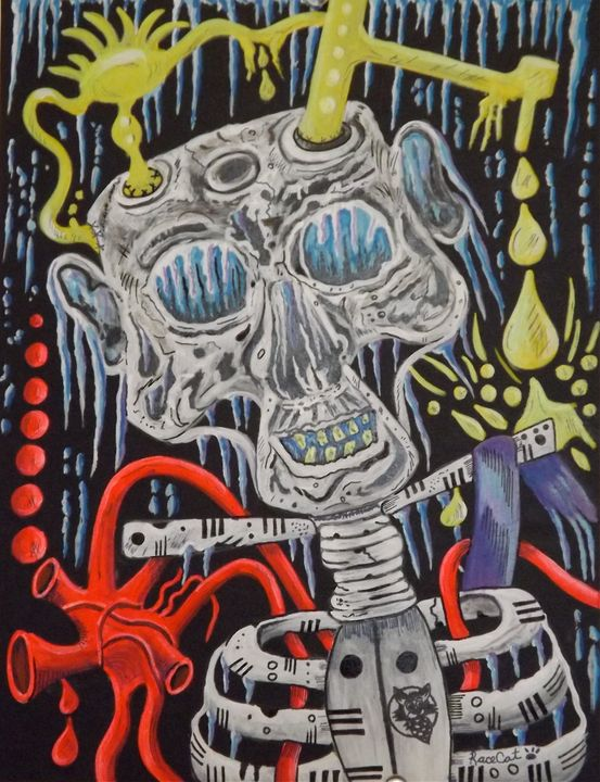Skull brain freeze - Racecat7