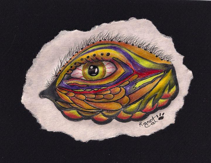 Golden Green Eye - Racecat7