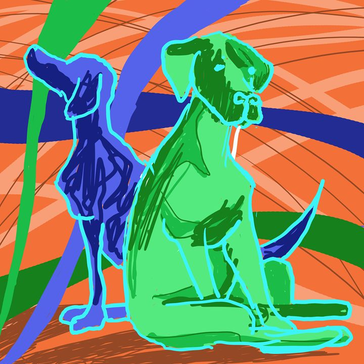 dogs 2 - TracyGrayArt