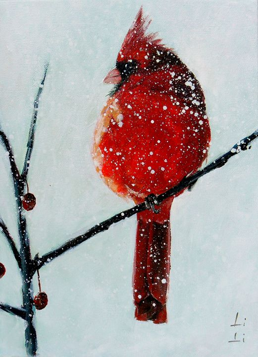 Cardinal I - LiLiArtStudio