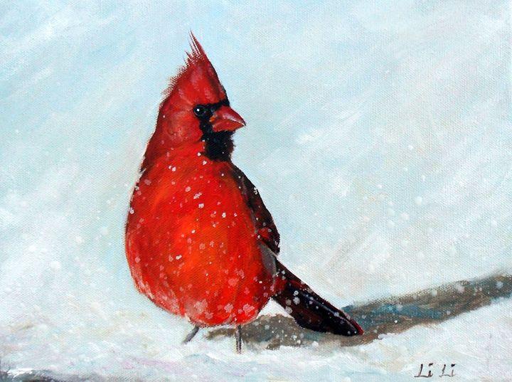 Cardinal II - LiLiArtStudio
