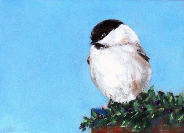 Chickadee No. 1 - LiLiArtStudio