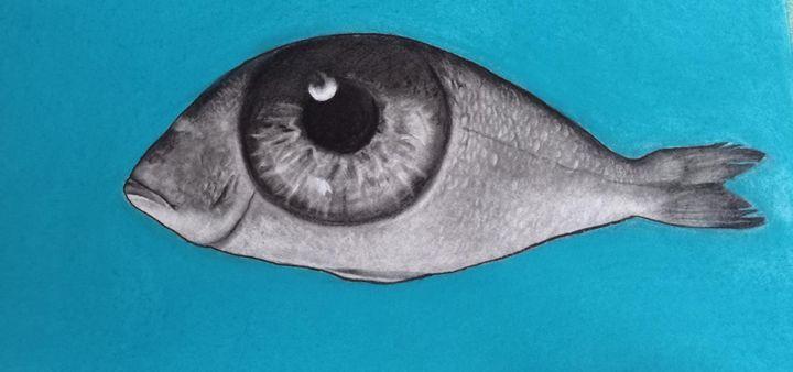 eye in the sea -  Wafikazazaza