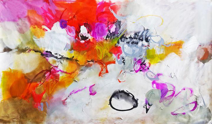Abstract painting print original - Gabi Ger Art