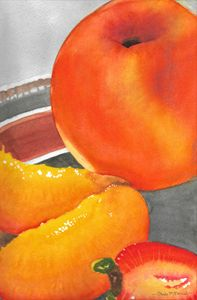 Summer Fruit - Art by Paula Hall