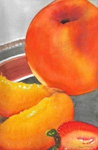 Summer Fruit - Art by Paula Hall