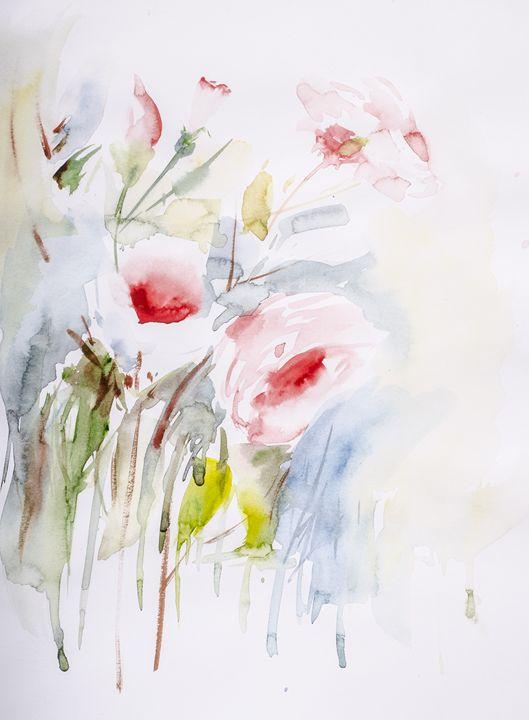 """""""Falling in love"""" - Sana's art gallery"""