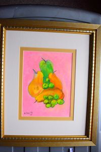 Pears and grapes - Maple street arts